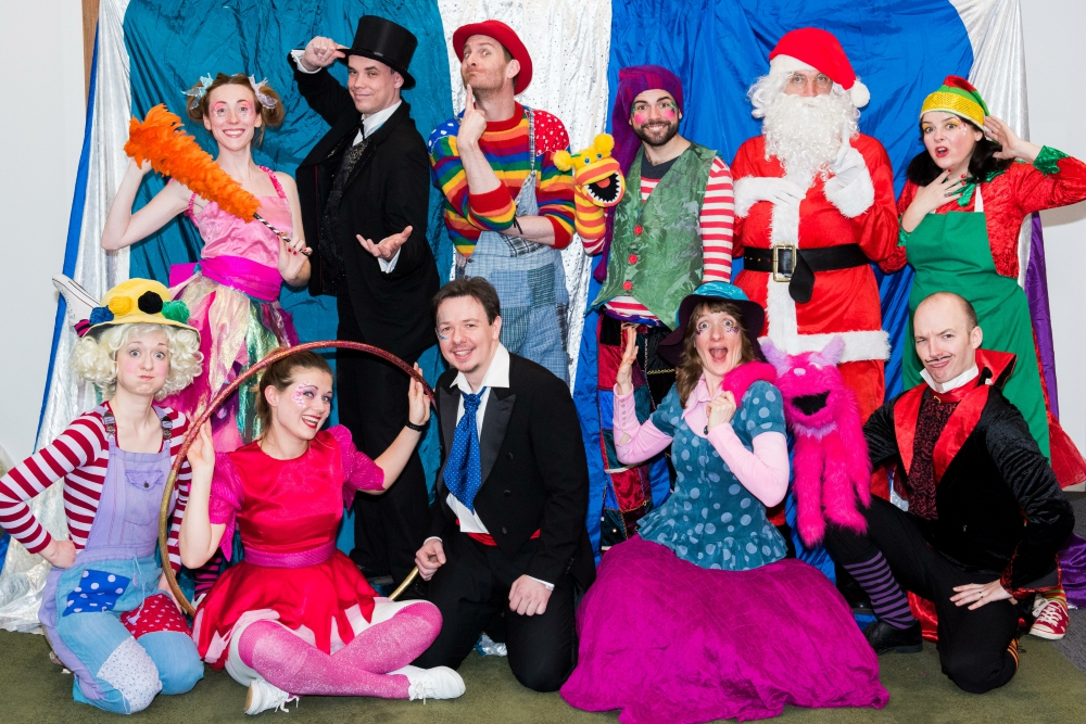 Bedlam Bunch Xmas Kids Entertainers London